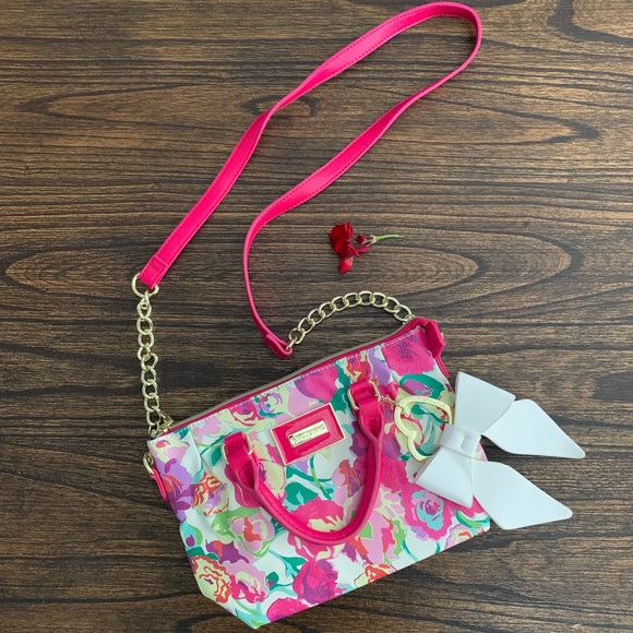 Betsey Johnson Handbags - Betsey Johnson Floral Bag